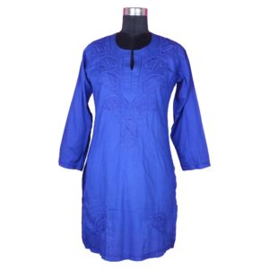 Cotton Chicken Long Kurti