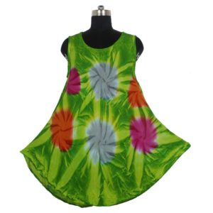 Tie Dye Rayon Dress