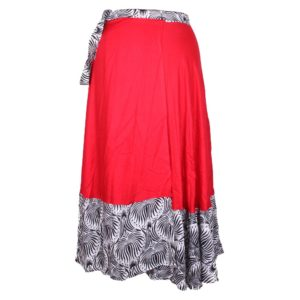 Rayon Wrap Around Skirt long Boho Hippie Gypsy